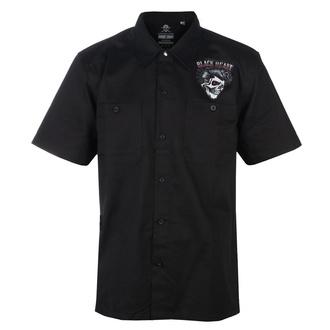 Camicia da uomo BLACK HEART - DENY BOY - NERO, BLACK HEART