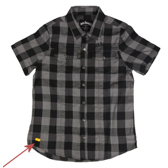 Camicia Jack Daniels - Checks - Nero / Grigio - DANNEGGIATO, JACK DANIELS