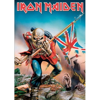 Cartolina IRON MAIDEN - The Trooper - ROCK OFF, ROCK OFF, Iron Maiden