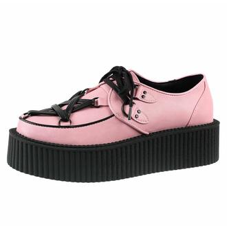 Scarpe da donna KILLSTAR - Hexellent Creepers - Pastello Pink, KILLSTAR