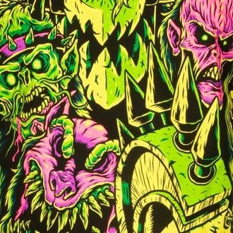 t-shirt metal uomo Gwar - Faces - INDIEMERCH, INDIEMERCH, Gwar
