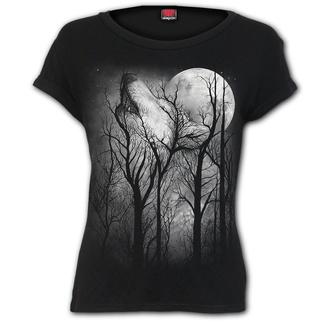 t-shirt donna - FOREST WOLF - SPIRAL, SPIRAL