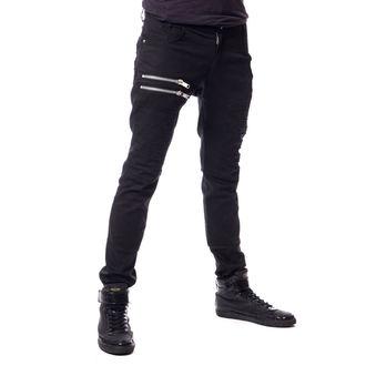 pantaloni da uomini Vixxsin - LANCE - NERO - POI345