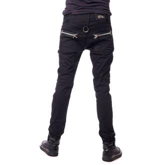 pantaloni da uomini Vixxsin - LANCE - NERO, VIXXSIN