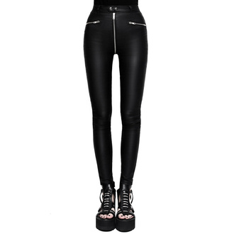 Pantaloni da donna (leggins) KILLSTAR - Larissa Coated, KILLSTAR