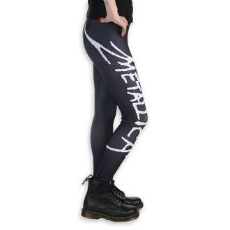Leggings (ghette) - Metallica - Logo - Nero / bianca, PAMELA MANN