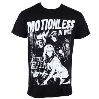 t-shirt metal uomo Motionless in White - London Terror - LIVE NATION, LIVE NATION, Motionless in White
