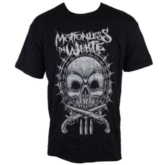 t-shirt metal uomo Motionless in White - Skull - LIVE NATION, LIVE NATION, Motionless in White