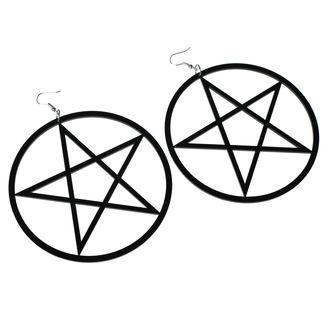 Orecchini Luciferothica - Huge Pentagram, LUCIFEROTHICA