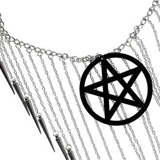 Collana Luciferothica - Pentagram Black, LUCIFEROTHICA