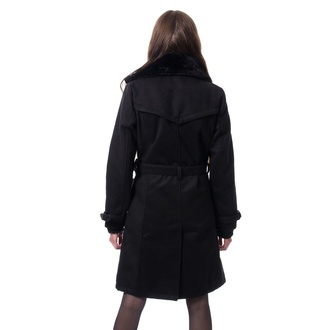 Cappotto da donna Poizen Industries - LUTANA - NERO, POIZEN INDUSTRIES