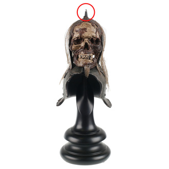 Decorazione Lord of the Rings - Lord of the Rings Replica Skull Trophy Helm of the Orc Tenente - WETA860402116 - DANNEGGIATO, NNM, Lord Of The Rings