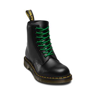 Lacci da scarpe Dr. Martens - 140cm (8-10x occhiello) - verde, Dr. Martens