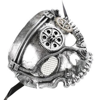 maschera ZOELIBAT - Steampunk-Halbmaske Skull, ZOELIBAT