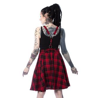 Vestito da donna Heartless - MAUDE PINAFORE - ROSSO DAI UN'OCCHIATA, HEARTLESS