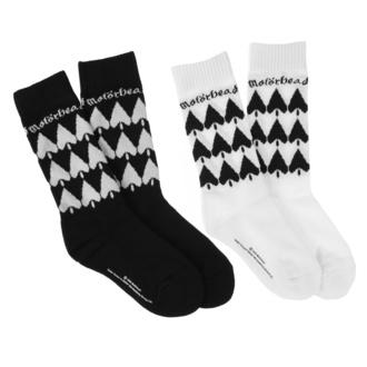 Calzini Motörhead - 2-Pack - nero / bianco, NNM, Motörhead