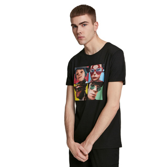 Maglietta da uomo Gorillaz - 4 Faces - nero, NNM, Gorillaz