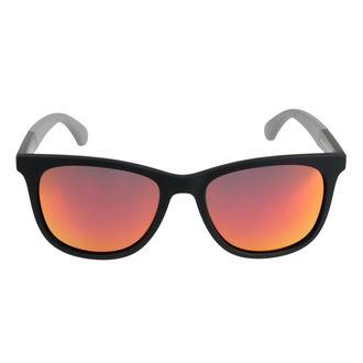 Occhiali da sole MEATFLY - FRIZIONE UN 4/17/55 - NERO / GRIGIO, MEATFLY