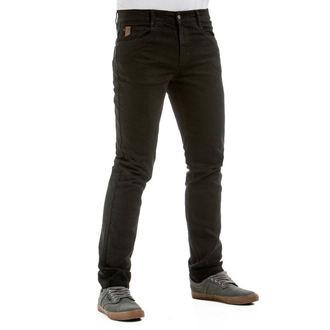 pantaloni (jeans) MEATFLY - Riot 2, Spirit Jeans - 1/7/55, A,C - Black, MEATFLY