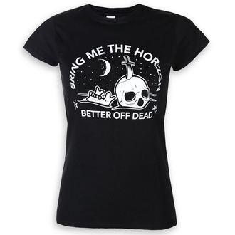 t-shirt metal donna Bring Me The Horizon - Happy Song - ROCK OFF, ROCK OFF, Bring Me The Horizon