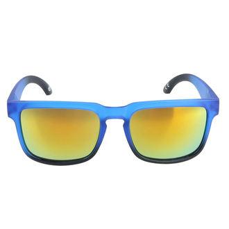 Occhiali da sole MEATFLY - MEMPHIS - E - 4/17/55 - Blu opaco, MEATFLY
