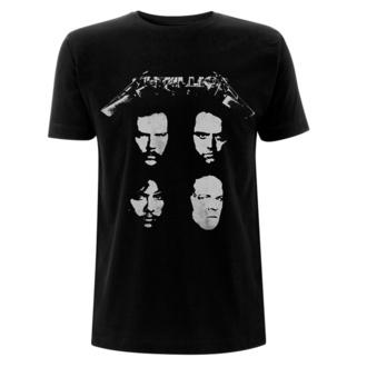 Maglietta da uomo Metallica - 4 Faces - Nero, NNM, Metallica