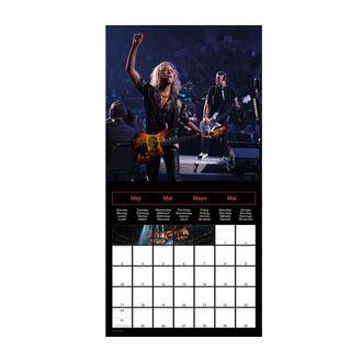 calendario METALLICA 2021, NNM, Metallica
