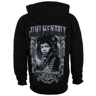 felpa con capuccio uomo Jimi Hendrix - HENDRIX AUTHENTC - BRAVADO, BRAVADO, Jimi Hendrix