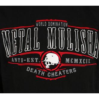 felpa con capuccio uomo - SLICE - METAL MULISHA, METAL MULISHA