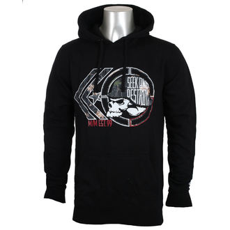 felpa con capuccio uomo - NIGHT WATCH - METAL MULISHA, METAL MULISHA