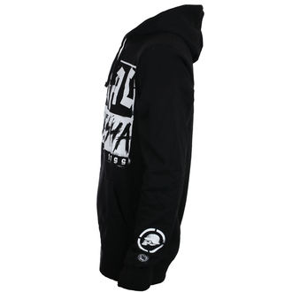 felpa con capuccio uomo - BLOCK - METAL MULISHA, METAL MULISHA