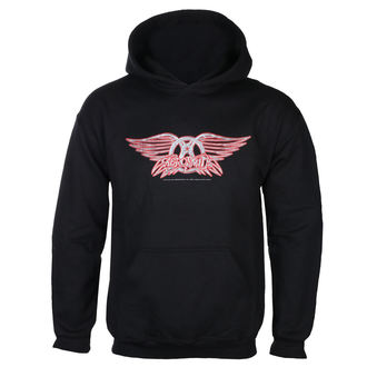 felpa con capuccio uomo Aerosmith - Logo - LOW FREQUENCY, LOW FREQUENCY, Aerosmith