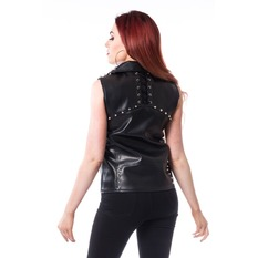 gilet Donne Heartless - MIRA - NERO