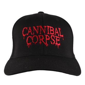 berretto CANNIBAL CORPSE - RED - JSR, Just Say Rock, Cannibal Corpse