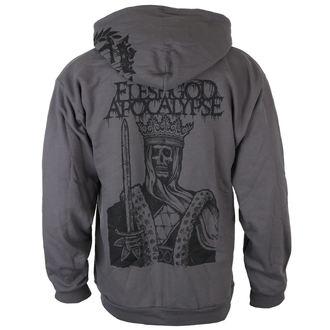 felpa con capuccio uomo Fleshgod Apocalypse - EMBLEM - Just Say Rock, Just Say Rock, Fleshgod Apocalypse