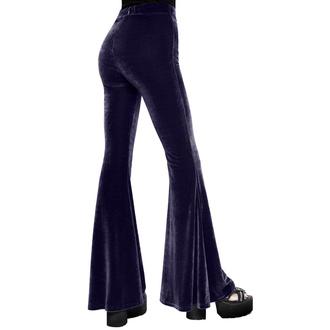 Pantaloni da donna KILLSTAR - Moondance Bell - PRUGNA, KILLSTAR