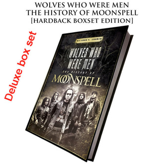 Libro (set regalo ) Moonspell - Wolves Who Were Men (Cofanetto deluxe con copia rigida autografata), CULT NEVER DIE, Moonspell