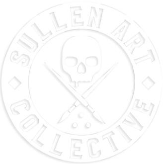 Etichetta (grande) SULLEN - BOH DIE CUT STICKER 6 IN - BIANCA, SULLEN