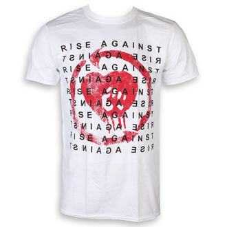 maglietta Rise Against - Block - bianca - KINGS ROAD, KINGS ROAD, Rise Against