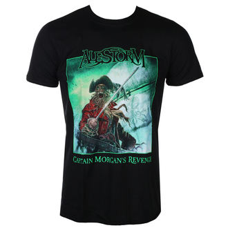 t-shirt metal uomo Alestorm - Captain Morgan`s Revenge – 10th Anniversary Editio - NAPALM RECORDS, NAPALM RECORDS, Alestorm