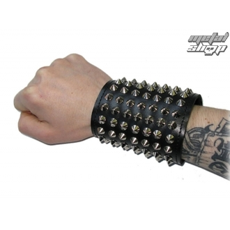 bracciale Borchie, BLACK & METAL
