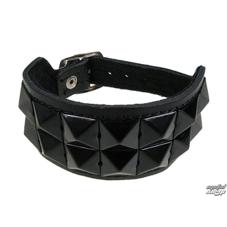 bracciale Pyramidy 2, BLACK & METAL