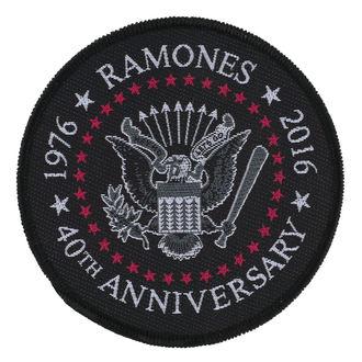 toppa RAMONES - 40TH ANNIVERSARY - RAZAMATAZ, RAZAMATAZ, Ramones