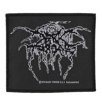 toppa DARKTHRONE - LUREX LOGO - RAZAMATAZ, RAZAMATAZ, Darkthrone