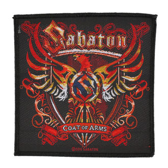 toppa SABATON - COAT OF ARMS - RAZAMATAZ, RAZAMATAZ, Sabaton