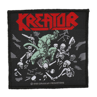 toppa KREATOR - PLEASURE TO KILL - RAZAMATAZ, RAZAMATAZ, Kreator