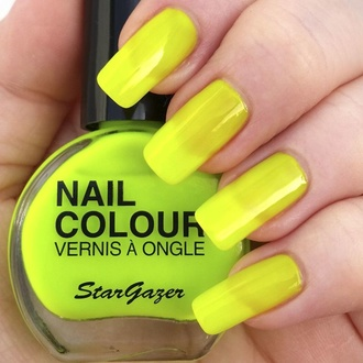 Smalto STAR GAZER - Neon Yellow, STAR GAZER