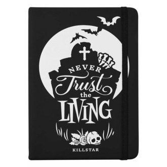 Quaderno/blocco note KILLSTAR - Never Trust The Living - Nero, KILLSTAR