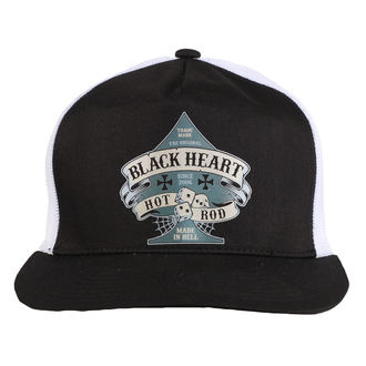 berretto BLACK HEART - BELL - BIANCA, BLACK HEART