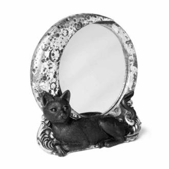 Decorazione (specchio) ALCHEMY GOTHIC - Gatto / Luna, ALCHEMY GOTHIC